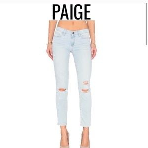 Paige premium denim Sz31 light wash